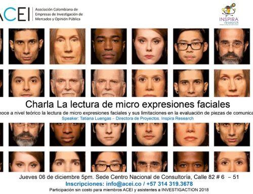 Charla: La lectura de micro expresiones faciales