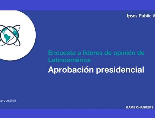 Encuesta a líderes de opinión de Latinoamérica: Aprobación de presidentes