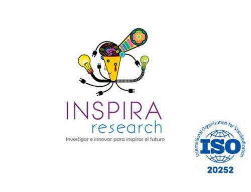 Inspira Research fue certificada ISO 20252 por Icontec