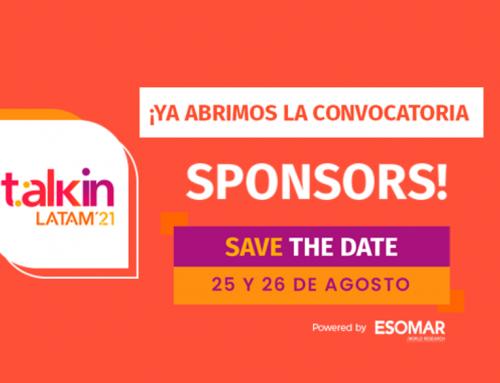 Talkin Latam 21: ¡Ya está abierta la convocatoria para Sponsors!